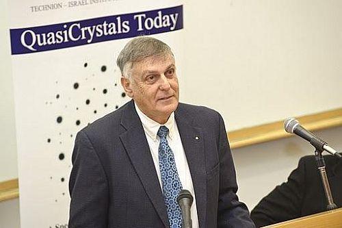 Prof. Dan Shechtman, 2011 Nobel Laurette in chemistry