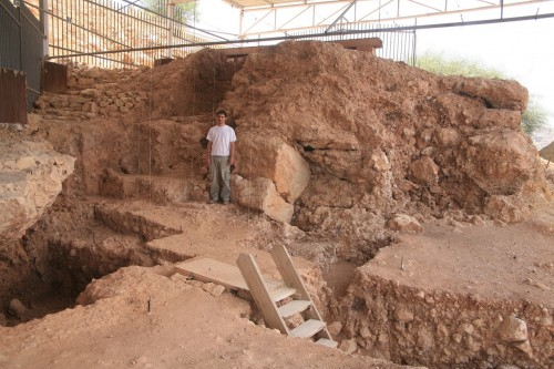 Qesem Cave near Rosh-Haayin, Israel. credit: Tel Aviv University