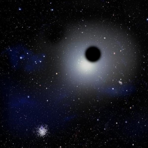 rough black holes. credit: harvard-smitsonian center of Astrophysics